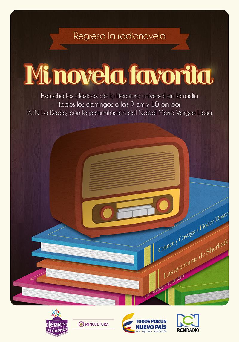 Los colombianos podrán escuchar un clásico de la literatura en la radio con la presentación del premio Nobel Mario Vargas Llosa todos los domingos a las 9:00 a.m. o a las 10:00 p.m. gracias a una alianza entre MinCultura y RCN.