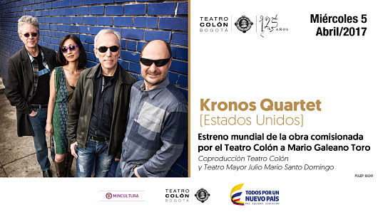Kronos Quartet regresa al país para interpretar obras de dos compositores colombianos